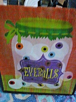 Publix Halloween Eyeballs reusable shopping bag, NWT](Halloween Shopping)