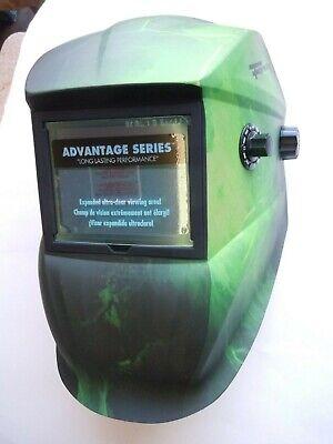 Advantage Series Edge Auto-darkening Welding Helmet Impact Resistant - Forney