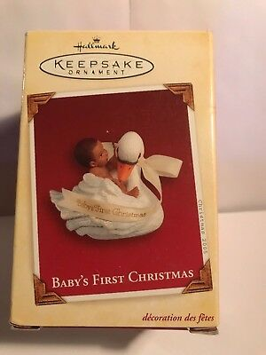 Hallmark Ornament Baby's First Christmas dated 2005