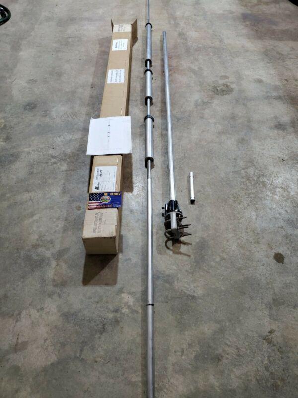 Mosley Electronics RV-7C 7 Band Amateur Radio Vertical Antenna