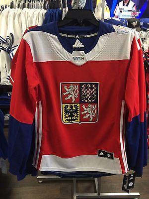 2016 World Cup of Hockey Czech Republic Adidas Jersey Replica Small Ladies  Women a71a585e31bf