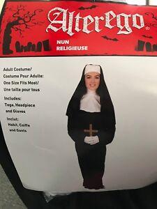 selling nun costume