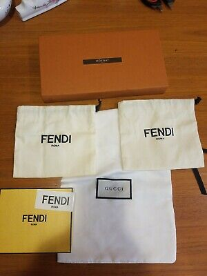Fendi Gucci Moynat Dust Bags Sticker And Boxes