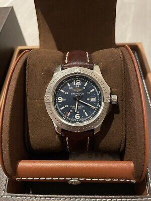 Breitling Colt Mens Blue Watch