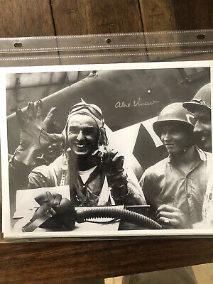 Alex Vreciu WWII Fighter Pilot Medal of Honor Signed Photo Certified