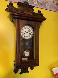 Antique RA German Vienna Regulator Wall Clock