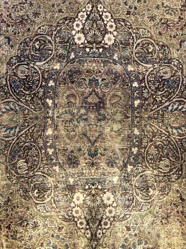 Fantastic Floral - 1910s Antique Oriental Rug - Handmade Carpet - 10 X 12 Ft.