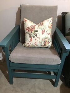 Craftsman chair solid wood