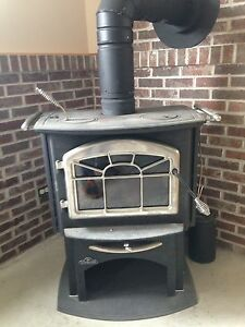$1500 firm 2008 Napoleon wood cook stove model 1100