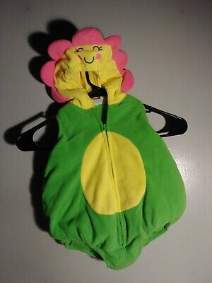 Carter's Flower Costume  Halloween Infant size 3-6 months Warm  - 3 6 Month Halloween Costumes