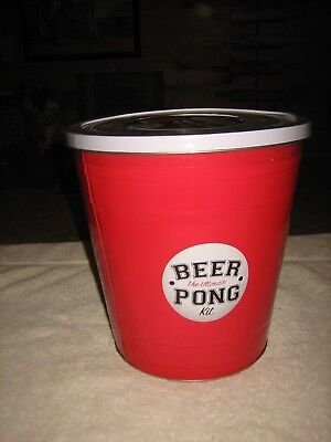 NEW THE ULTIMATE BEER PING PONG KIT FUND GAME COLLEGE PARTY BIRTHDAY PARTY - Beer Pong Kit