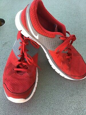 Mens Nike Lightweight Red Free Run Trainers - Size UK 8.5
