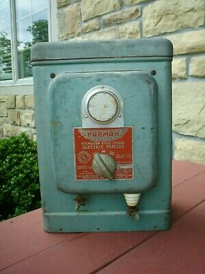 Parmak Vintage Model Standard Field Galvanized Six Volt Electric Fencer Vgc