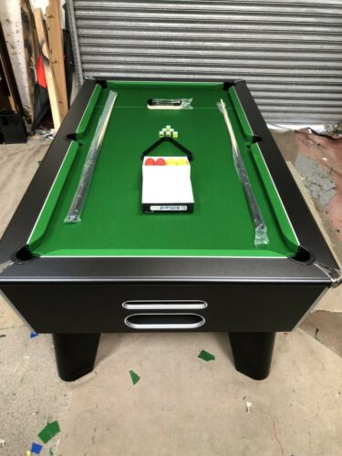 6FT BY 3FT NEW BLACK FREEPLAY CLASIC POOL TABLE IN STOCK CAN DELIVER