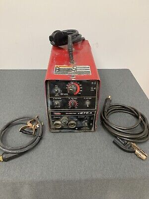 Lincoln Electric Invertec V275-s Stick Welder Tig Welder 275 Amp 220v