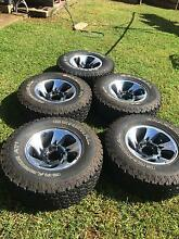 ROH 16x8 Alloy wheels with General AT tyres Maleny Caloundra Area Preview