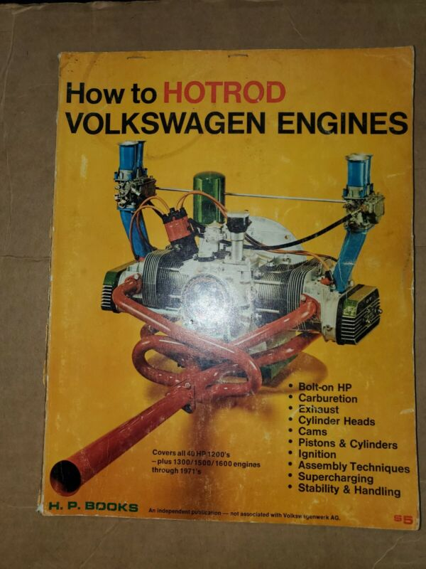 1970 How to Hotrod Volkswagen Engines magazine  VW dune buggy