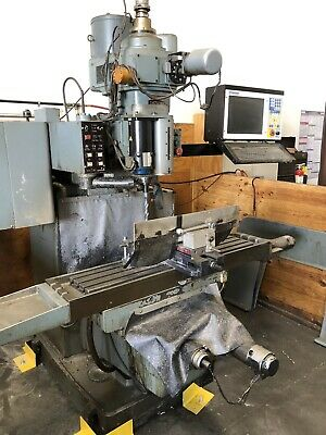 Shizuoka An-s 3-axis Cnc Knee Mill 51x11table With Centroid M400 Control