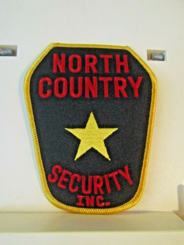 """North Country Security Inc. Minnesota MN? patch new unused 4.75"""""""