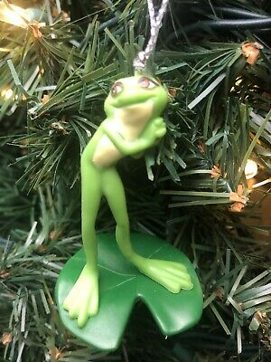 "2020 Disney Tiana FROG Christmas Tree Ornament Princess & The Frog Disneyland 2"""
