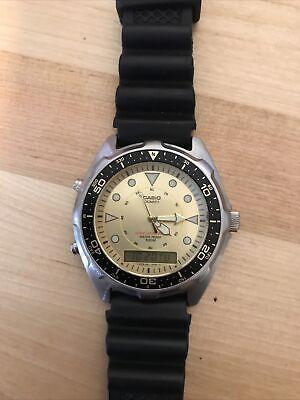 """Casio AMW-320D Dive Watch """"Arnie"""" with Casio rubber strap"""