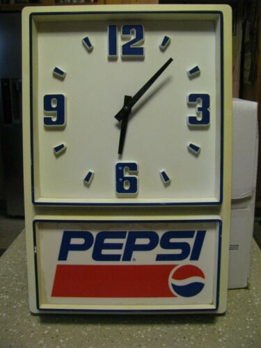 Vintage Pepsi Cola Restaurant Wall Clock