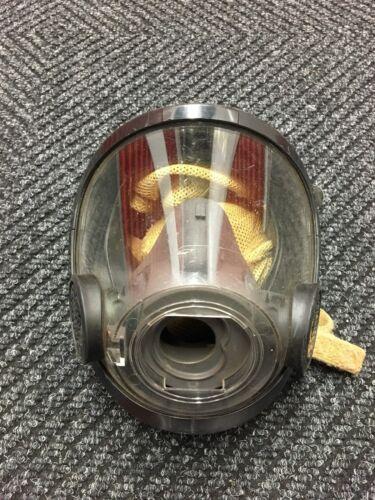 Scott AV-3000 Firefighter Facepiece SCBA CBRN NBC Size MEDIUM - Good