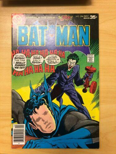 Batman #294 Bronze Age