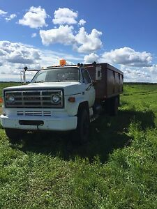Gmc grain truck