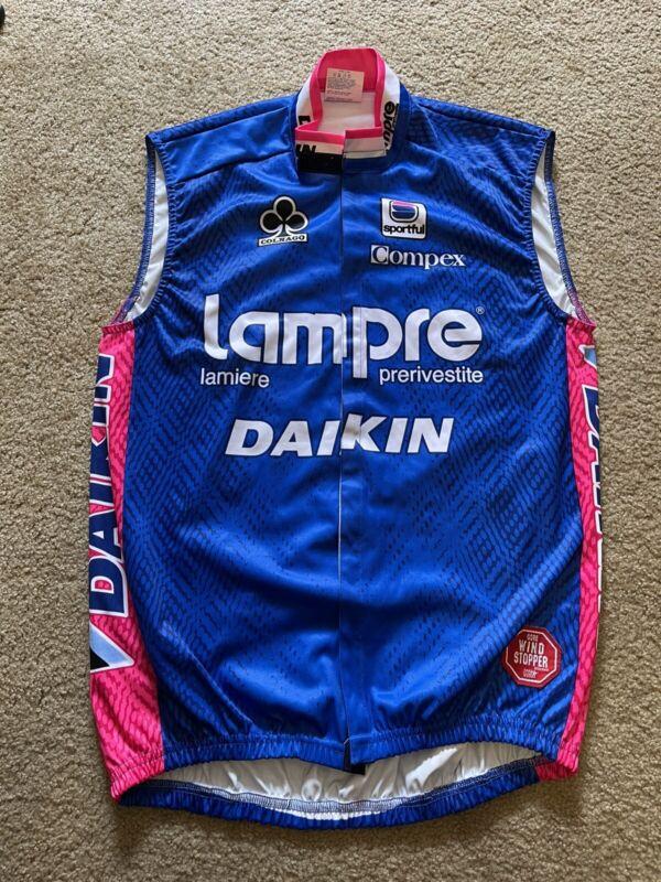 Sportful Lampre Daikin Colnago Team WindStopper Gilet Vest Jersey Top Men