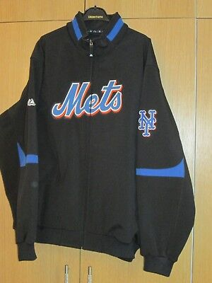 New York Mets Majestic Jacket Mens Size Xxl 2xl Therma Base On Field Authentic Other Baseball Clothing & Accs Clothing, Shoes & Accessories