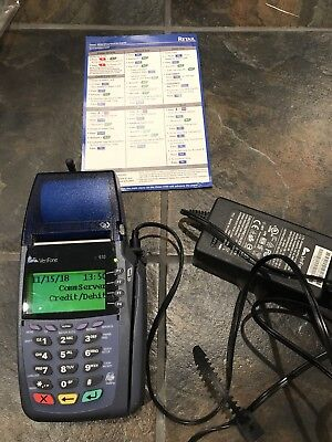 Verifone Vx610 Wireless With Battery And Power Supply. Verizon Network