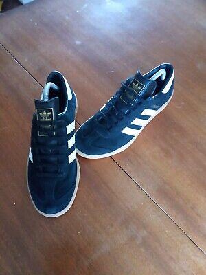 adidas HAMBURG, black, size 8.5
