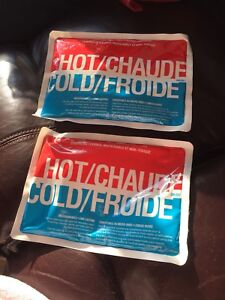 Hot & cold gel pack for 2