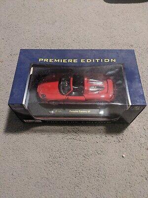 Maisto 1/18th Scale Premiere Edition Porsche Carrera GT Red Diecast Model Car