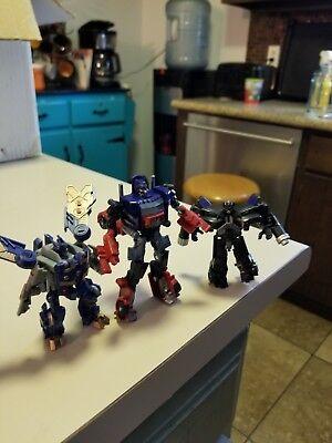 Transformers Dotm Movie SOUNDWAVE Optimus Prime Ironhide Legends Cyberverse Lot