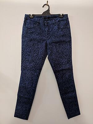 Jag Women's Jeans Size 12 Blue Patterned Mid Rise