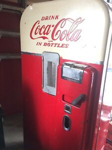Vintage 1956-1957 Coca Cola vending machine