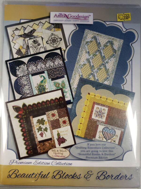 Beautiful Blocks & Borders Machine Embroidery Anita Goodesign