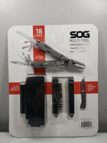 SOG Multi-Tool Power Access Bonus Kit HexBit Kit 13 Tools Ce
