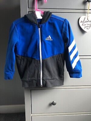 Adidas childrens hoody age 4-5 good condition
