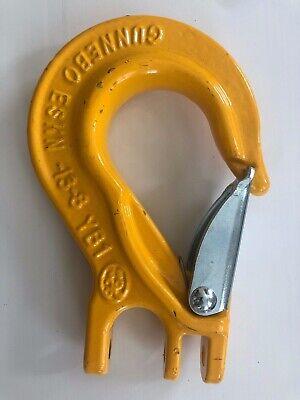 Gunnebo Z101214 12 Eskn-13-8 Yb1 Grade 80 Sling Hook W Latch New