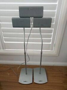 Sony Speakers 1x Centre plus 1x left 1x right with adjustable stands
