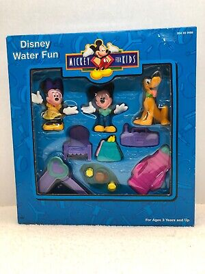 MICKEY MOUSE & FRIENDS Water Fun DISNEY PVC Figurine PLAYSET Arco Toys New