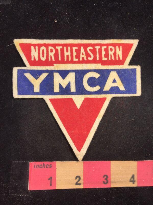 Vintage 1950s NORTHEASTERN YMCA Patch 80M7