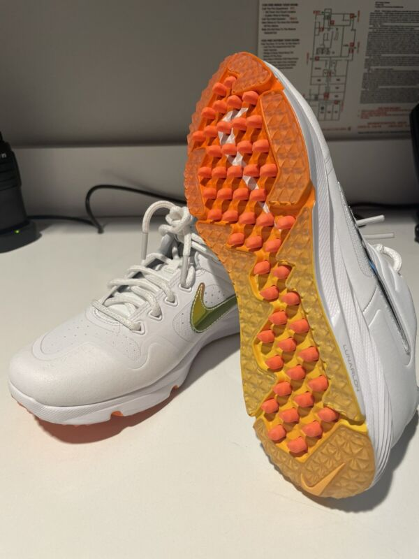Nike Alpha Huarache Elite 2 Turf Softball Shoes CJ9988-102 White Women's size 8