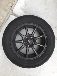 Alloy Wheels and 195 65 R15 tires