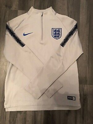 Boys Nike Football Training Top Jacket England Long Sleeve 12-13 Years Dri-fit