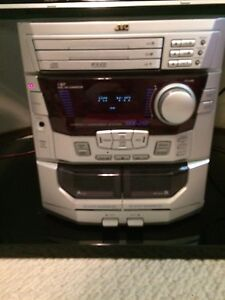 JVC Stereo System -- like new