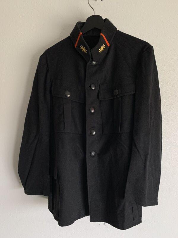 Original WW1 Austro-Hungarian Signal Korps Communications Tunic Black Wool